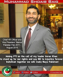 PTI worker and Ex VP Telenor appointed ED OGDCL