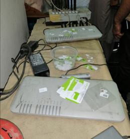 PTA confiscates grey trafficking network using Zong SIMs